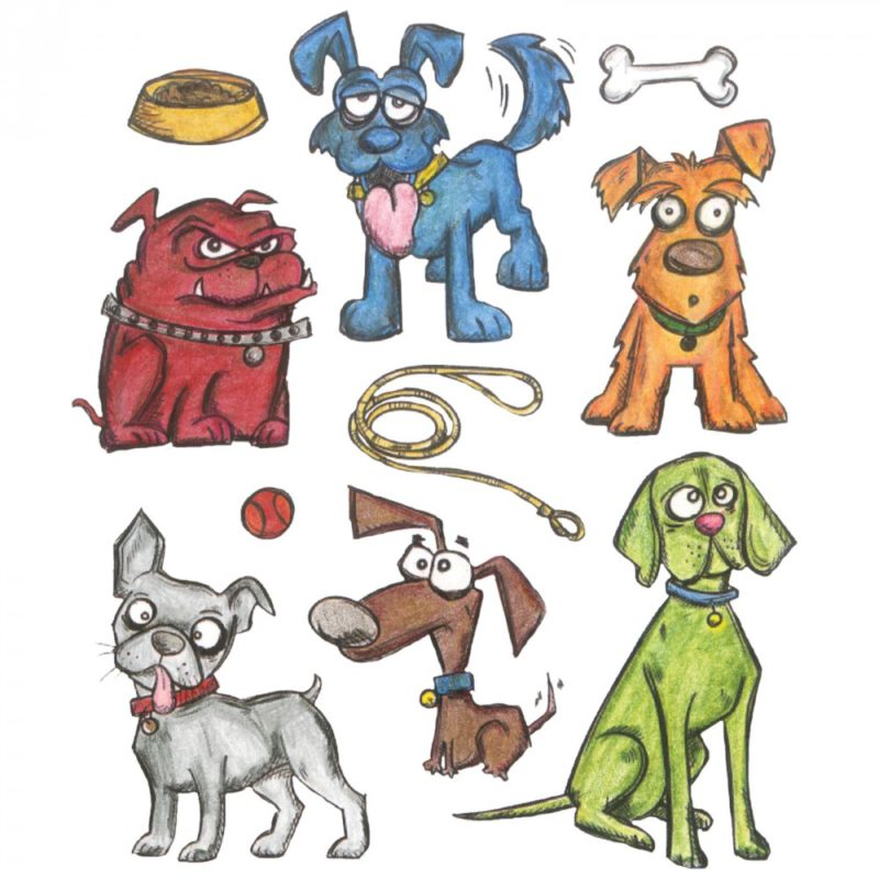 Crazy Dogs by Tim Holtz Coming Soon!